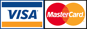 e Accept Visa and Mastercard