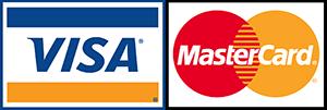 e Accept Visa and Mastercard